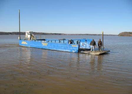 Shoreline Specialists Special Delivery Boat
